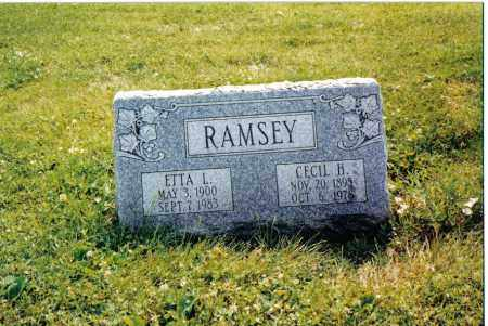 RAMSEY, CECIL H. - Preble County, Ohio | CECIL H. RAMSEY - Ohio Gravestone Photos