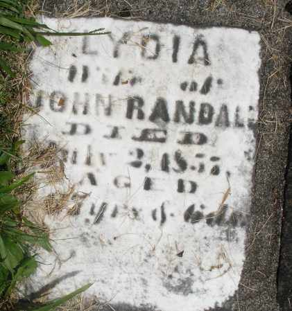 RANDALL, LYDIA - Preble County, Ohio | LYDIA RANDALL - Ohio Gravestone Photos