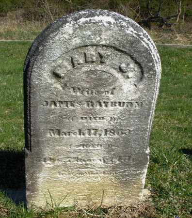 RAYBURN, MARY J. - Preble County, Ohio | MARY J. RAYBURN - Ohio Gravestone Photos
