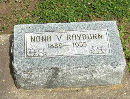 RAYBURN, NONA VELDA - Preble County, Ohio | NONA VELDA RAYBURN - Ohio Gravestone Photos