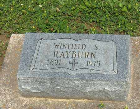 RAYBURN, WINFIELD SCOTT - Preble County, Ohio | WINFIELD SCOTT RAYBURN - Ohio Gravestone Photos