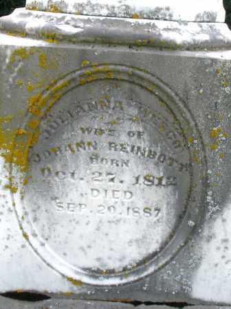 REINBOTT, JULIANNA - Preble County, Ohio | JULIANNA REINBOTT - Ohio Gravestone Photos