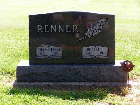 COLE RENNER, CHARLOTTE - Preble County, Ohio | CHARLOTTE COLE RENNER - Ohio Gravestone Photos