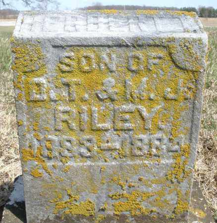 RILEY, HERBERT - Preble County, Ohio | HERBERT RILEY - Ohio Gravestone Photos