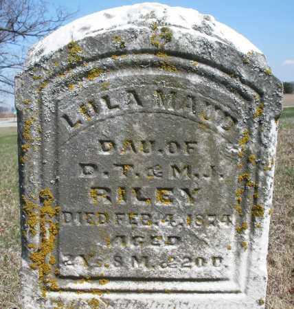 RILEY, LULU MAUD - Preble County, Ohio   LULU MAUD RILEY - Ohio Gravestone Photos