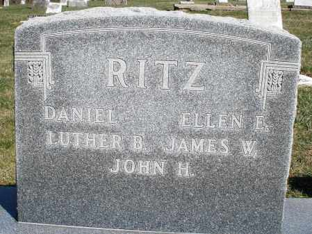 RITZ, ELLEN E. - Preble County, Ohio | ELLEN E. RITZ - Ohio Gravestone Photos