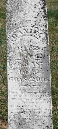 RITZ, DANIEL - Preble County, Ohio | DANIEL RITZ - Ohio Gravestone Photos