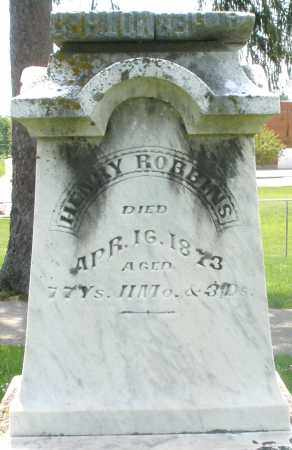 ROBBINS, HENRY - Preble County, Ohio | HENRY ROBBINS - Ohio Gravestone Photos