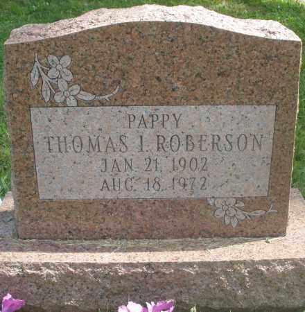 ROBERSON, THOMAS I. - Preble County, Ohio | THOMAS I. ROBERSON - Ohio Gravestone Photos