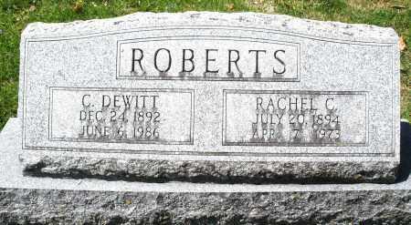 ROBERTS, RACHEL C. - Preble County, Ohio | RACHEL C. ROBERTS - Ohio Gravestone Photos