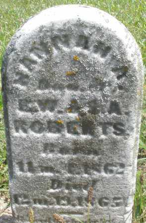 ROBERTS, HANNAH - Preble County, Ohio | HANNAH ROBERTS - Ohio Gravestone Photos
