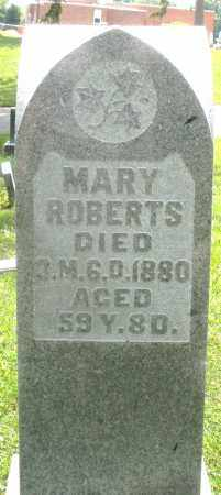 ROBERTS, MARY - Preble County, Ohio | MARY ROBERTS - Ohio Gravestone Photos