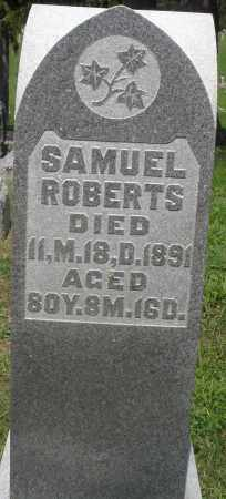 ROBERTS, SAMUEL - Preble County, Ohio | SAMUEL ROBERTS - Ohio Gravestone Photos