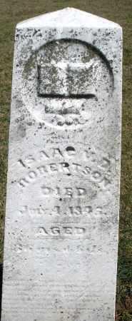 ROBERTSON, ISAAC M.D. - Preble County, Ohio   ISAAC M.D. ROBERTSON - Ohio Gravestone Photos