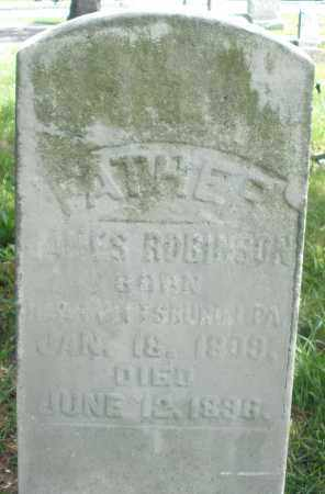 ROBINSON, JAMES - Preble County, Ohio | JAMES ROBINSON - Ohio Gravestone Photos