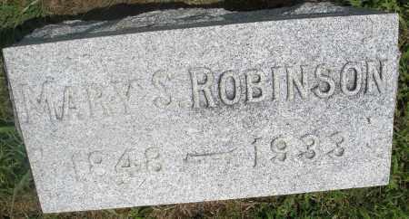 ROBINSON, MARY S. - Preble County, Ohio   MARY S. ROBINSON - Ohio Gravestone Photos
