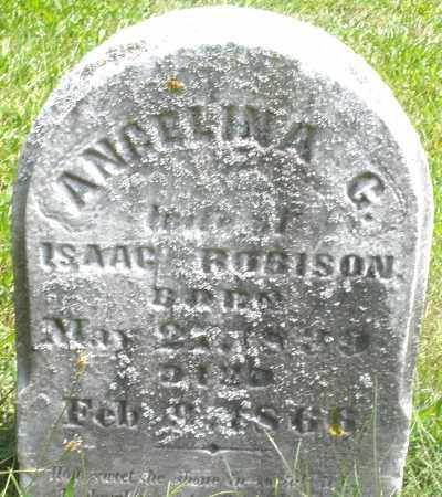 ROBISON, ANGELINA G. - Preble County, Ohio | ANGELINA G. ROBISON - Ohio Gravestone Photos