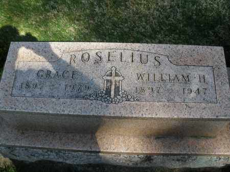ROSELIUS, WILLIAM H. - Preble County, Ohio | WILLIAM H. ROSELIUS - Ohio Gravestone Photos