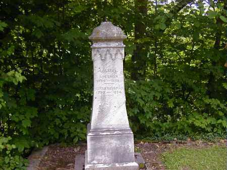 ROSSMAN, SARAH - Preble County, Ohio | SARAH ROSSMAN - Ohio Gravestone Photos