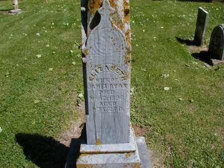RYAN, ELIZABETH - Preble County, Ohio   ELIZABETH RYAN - Ohio Gravestone Photos