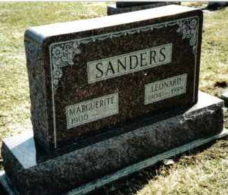SANDERS, MARGUERITE - Preble County, Ohio | MARGUERITE SANDERS - Ohio Gravestone Photos