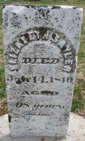 SAYLER, ELIZABETH - Preble County, Ohio   ELIZABETH SAYLER - Ohio Gravestone Photos