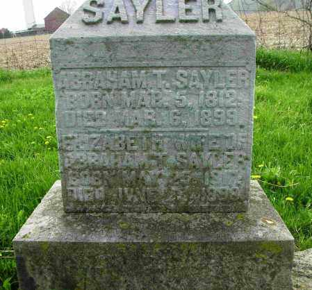 SAYLOR, ELIZABETH - Preble County, Ohio | ELIZABETH SAYLOR - Ohio Gravestone Photos