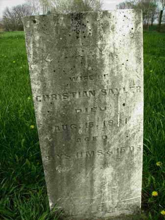 SAYLOR, MARY - Preble County, Ohio | MARY SAYLOR - Ohio Gravestone Photos