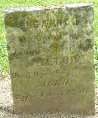 SAYLOR, SUSANNAH - Preble County, Ohio | SUSANNAH SAYLOR - Ohio Gravestone Photos