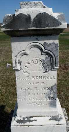 SCHREEL, ISAAC - Preble County, Ohio | ISAAC SCHREEL - Ohio Gravestone Photos