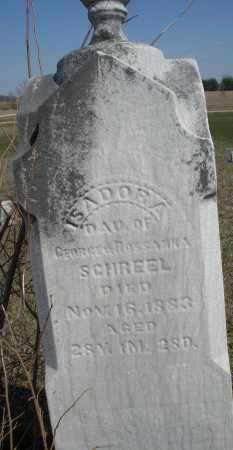 SCHREEL, ISADORA - Preble County, Ohio | ISADORA SCHREEL - Ohio Gravestone Photos