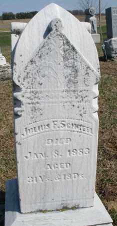SCHREEL, JULIUS F. - Preble County, Ohio | JULIUS F. SCHREEL - Ohio Gravestone Photos