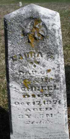 SCHREEL, LAURA - Preble County, Ohio | LAURA SCHREEL - Ohio Gravestone Photos
