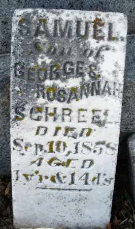 SCHREEL, SAMUEL - Preble County, Ohio | SAMUEL SCHREEL - Ohio Gravestone Photos