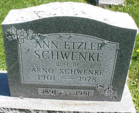 SCHWENKE, ANN - Preble County, Ohio | ANN SCHWENKE - Ohio Gravestone Photos