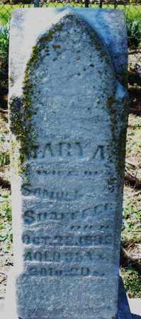 SHAEFFER, MARY A. - Preble County, Ohio | MARY A. SHAEFFER - Ohio Gravestone Photos