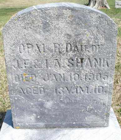 SHANK, OPAL - Preble County, Ohio | OPAL SHANK - Ohio Gravestone Photos