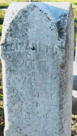 SHEWMAN, ELIZABETH - Preble County, Ohio | ELIZABETH SHEWMAN - Ohio Gravestone Photos