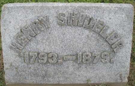 SHIDELER, HENRY - Preble County, Ohio | HENRY SHIDELER - Ohio Gravestone Photos