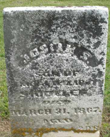 SHIDELER, JOSEPH S. - Preble County, Ohio | JOSEPH S. SHIDELER - Ohio Gravestone Photos