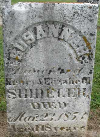 SHIDELER, SUSANNAH - Preble County, Ohio | SUSANNAH SHIDELER - Ohio Gravestone Photos