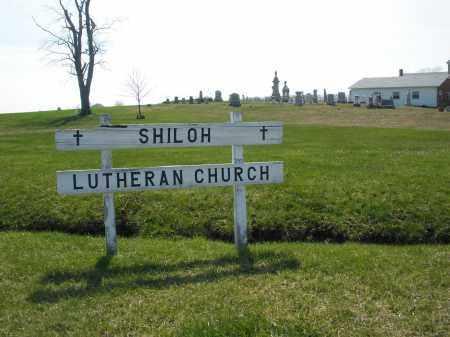 SHILO LUTHERAN, CEMETERY - Preble County, Ohio | CEMETERY SHILO LUTHERAN - Ohio Gravestone Photos
