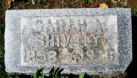 SHIVELY, SARAH A. - Preble County, Ohio | SARAH A. SHIVELY - Ohio Gravestone Photos
