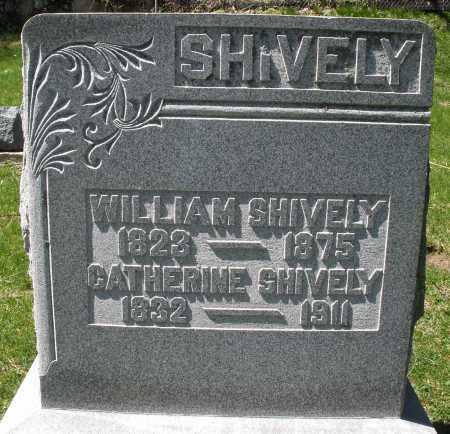 SHIVELY, WILLIAM - Preble County, Ohio | WILLIAM SHIVELY - Ohio Gravestone Photos