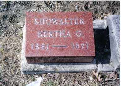 SHOWALTER, BERTHA G. - Preble County, Ohio | BERTHA G. SHOWALTER - Ohio Gravestone Photos