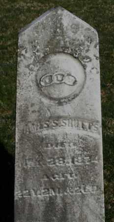 SHULTS, JAMES S. - Preble County, Ohio | JAMES S. SHULTS - Ohio Gravestone Photos
