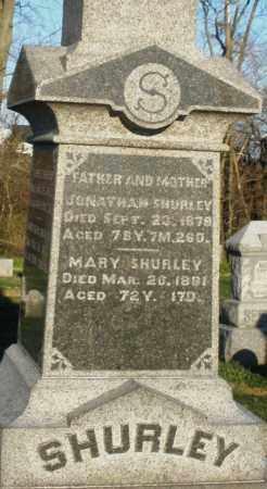 SHURLEY, JONATHAN - Preble County, Ohio | JONATHAN SHURLEY - Ohio Gravestone Photos