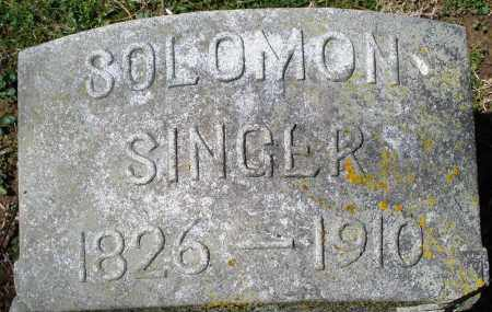 SINGER, SOLOMON - Preble County, Ohio | SOLOMON SINGER - Ohio Gravestone Photos