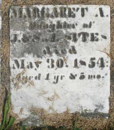 SITES, MARGARET A. - Preble County, Ohio | MARGARET A. SITES - Ohio Gravestone Photos