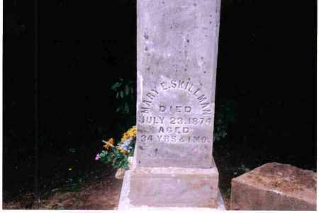 SKILLMAN, MARY E. - Preble County, Ohio | MARY E. SKILLMAN - Ohio Gravestone Photos